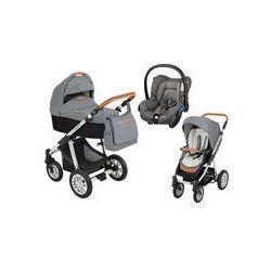 Wózek wielofunkcyjny 3w1 Lupo Dotty Baby Design + Citi GRATIS (Eco grafitowy)