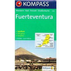 Fuerteventura mapa 1: 50 000 Kompass (opr. miękka)