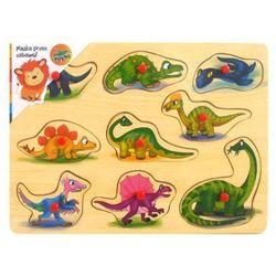 BRIMAREX Drewniana ukł. Dinozaury