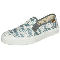Victoria Shoes SLIP ON ESTAMP TROPICALES Półbuty wsuwane petroleo