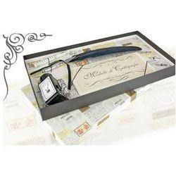 Zestaw do kaligrafii La Kaligrafica ( pióro gęsie ze stalówką + 3 stalówki + atrament z podstawką )