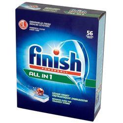 FINISH 56szt Powerball All in 1 Tabletki do mycia naczyń w zmywarkach