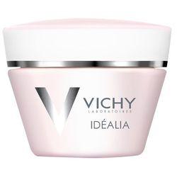 Vichy Idealia, rozświetlający krem wygładzający na dzień, cera sucha, 50 ml