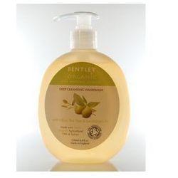 Bentley Organic Głęboko oczyszczające mydło w płynie do rąk z oliwką, olejkiem herbacianym i eukaliptusem 250 ml