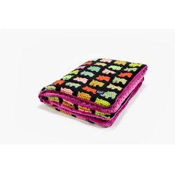 La Millou Kocyk 80 x 100 Hipopotamy Raspberry