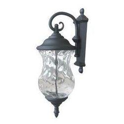 Lampa MARSYLIA LED black niska. Polux