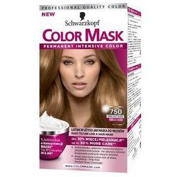 Color Mask, Farba do włosów, 750 Ciemny złoty blond