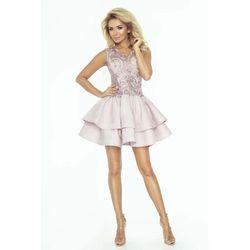 a7b470e7254743 suknie sukienki elegancka kobieca rozkloszowana czerwona sukienka z ...