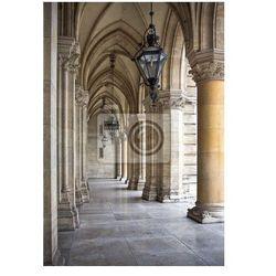 Fototapeta Rathaus. Tall gotycki budynek ratusz