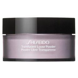 Shiseido Translucent Loose Powder Transparentny puder sypki 18 g