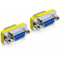 ADAPTER SERIAL 9PIN DB9 (COM)(F)->SERIAL 9PIN DB9 (COM)(F) DELOCK