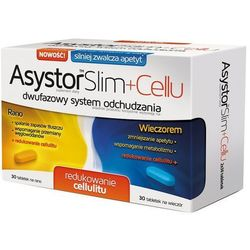 Asystor Slim + Cellu 60 tabl.