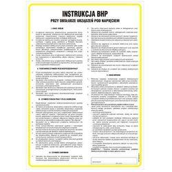 Instrukcja BHP przy obsłudze urządzeń pod napięciem