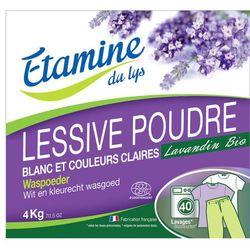 EDL proszek do prania tkanin białych i o trwałych kolorach organiczna lawenda 4 kg EDL harce 15% (-15%)