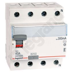 Legrand Wyłącznik różnicowoprądowy P304 40A 300mA AC 009012 411728