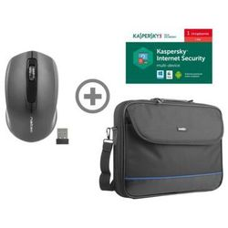 32f64c58a5bcf Mysz bezprzewodowa NATEC Jay + torba Impala + program Kaspersky Internet  Security Multi-Device (