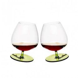 Sagaform Sagaform Bujające kieliszki do brandy zielone 400 ml