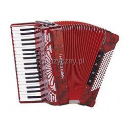 Moreschi ST 396 37/3/7 96/5/4 akordeon (czerwony) Płacąc przelewem przesyłka gratis!