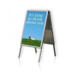 Tablica plakatowa na stojaku typu A 2x3 A1