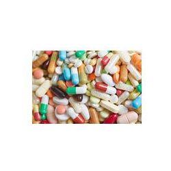Foto naklejka samoprzylepna 100 x 100 cm - Pigułki, tabletki i kapsułki w medycynie