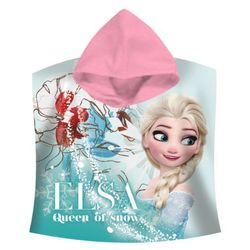Ręcznik kąpielowy ponczo poncho Frozen - Kraina Lodu 60/120