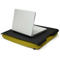 Podkładka pod laptop Bosign Laptray antypoślizgowa 46 cm, czarno - zielona