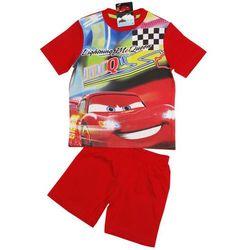 Piżama na lato Auta - Cars. Czerwony