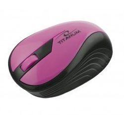 Mysz TITANUM TM114P Rainbow Różowy