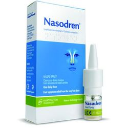 Nasodren aer.do nosa - 1 zest. (50mg.liof.+5ml.rozp.)
