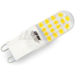 LED line Żarówka LED G9 SMD 2,5W (25W) 270lm 230V barwa ciepła 245978