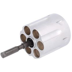 Bęben rewolwer hukowy K-10 kal. 6mm (EKOL Viper C-10 White) - white