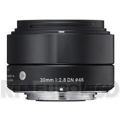 Sigma 30 mm f/2,8 DN A (czarny) Sony E Darmowy transport od 99 zł | Ponad 200 sklepów stacjonarnych | Okazje dnia!