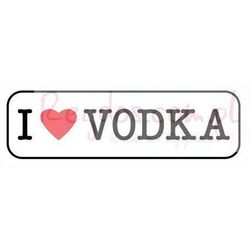 Kocham Wódkę - I Love Vodka - plakat