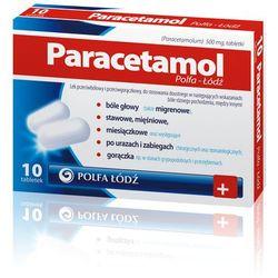 Paracetamol tabletki 0,5 g 50 sztuk (Polfa Ło;dź)