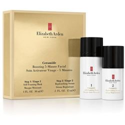 Elizabeth Arden Ceramide Intensive 5-Minute Facial Foaming Mask (30ml) and Replenishing Serum (15ml)