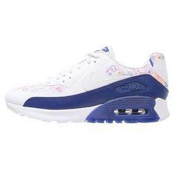 Nike Sportswear AIR MAX 90 ULTRA Tenisówki i Trampki white/dark purple dust