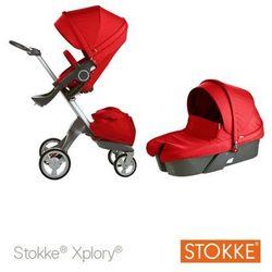 Stokke ® Xplory Głęboko-Spacerowy Red