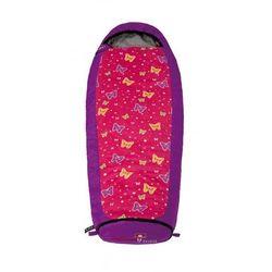 Grüezi-Bag Butterfly Śpiwór Dzieci różowy/fioletowy Przy złożeniu zamówienia do godziny 16 ( od Pon. do Pt., wszystkie metody płatności z wyjątkiem przelewu bankowego), wysyłka odbędzie się tego samego dnia.