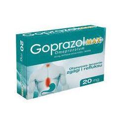 Goprazol Max 20 mg, 14 kapsułek dojelitowych twardych