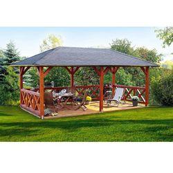 Duża altana ogrodowa Orlean 3000 x 6000 z montażem