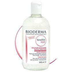 BIODERMA Sensibio H2O Płyn micelarny do oczyszczania twarzy i zmywania makijażu 500ml