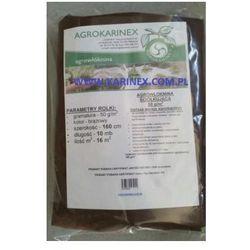 Agrowółknina ściółkujaca PP 50 g/m2 brązowa 1,6 x 10 mb.