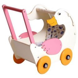 Wózek drewniany dla lalek Gąska