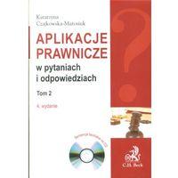 Aplikacje prawnicze w pytaniach i odpowiedziach. Tom 2 (+ CD) (opr. miękka)