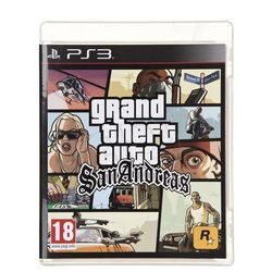 Grand Theft Auto San Andreas (PS3)