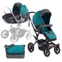 JANE Wózek sportowy Crosswalk + fotelik samochodowy Matrix Light 2 Moss