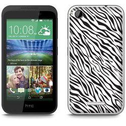Fantastic Case - HTC Desire 320 - etui - zebra