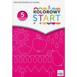 Kolorowy Start Pięciolatek Przygotowanie do pisania