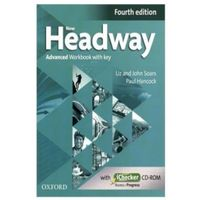 Headway 4E Advanced Workbook with Key and iChecker CD Pack (opr. miękka)