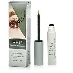 FEG Eyelash Enhancer - Odżywka Do Rzęs, Serum 3 ml HOLOGRAM